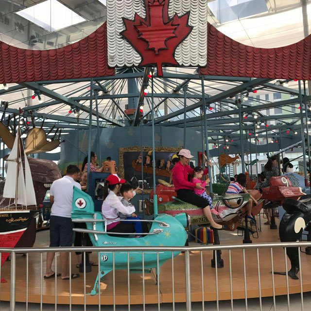 Pride of Canada Carousel at Downtown Markham