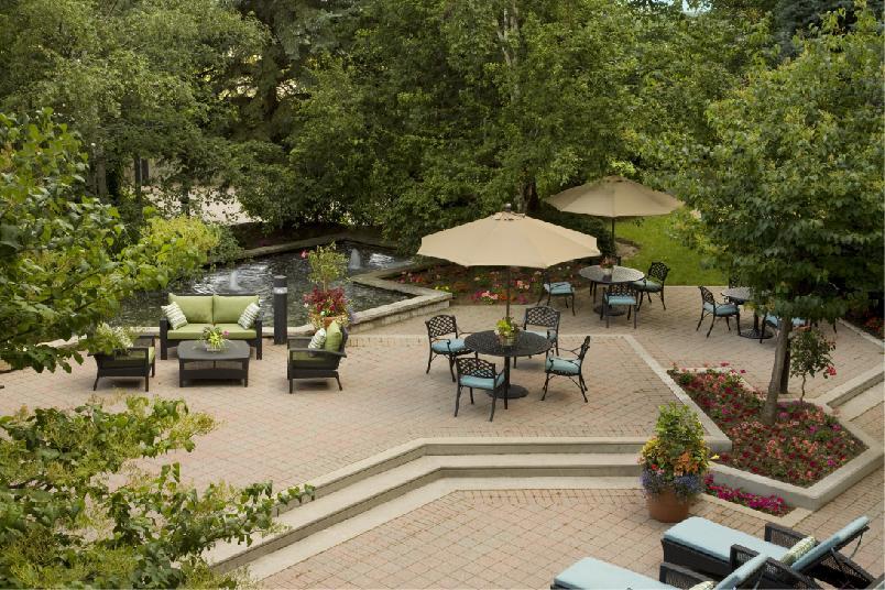 Zen Garden Lounge Overview