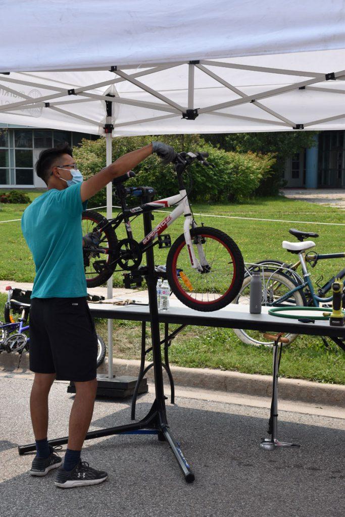 Pop-Up Markham Cycles Bike Repairs