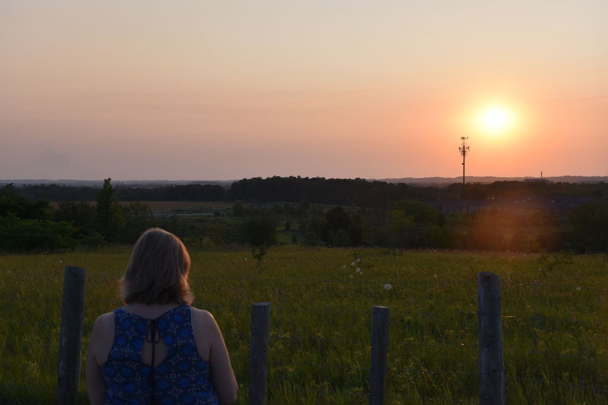 Sunset at Rouge Park