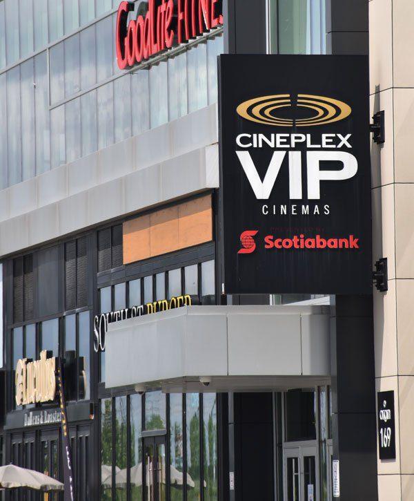 Cineplex Cinemas Markham and VIP